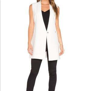 Bcbg white blazer dress